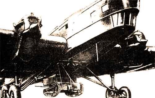 воздушная транспортировка танкетки Т-27