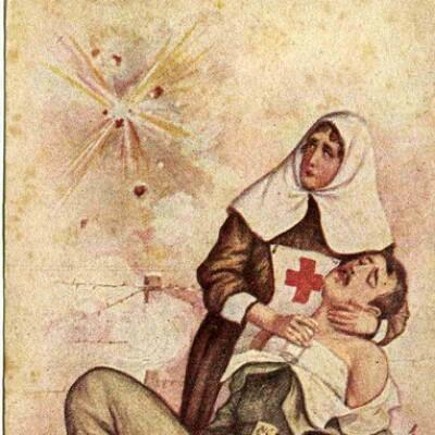 Открытки, сестра милосердия открытка